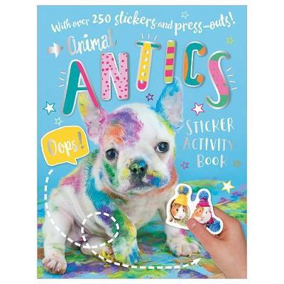Animal Antics Sticker Book (Paperback)
