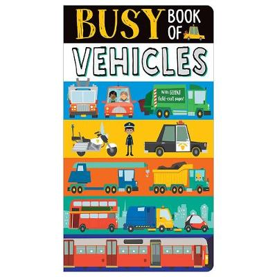Busy Book of Vehicles (Board book)