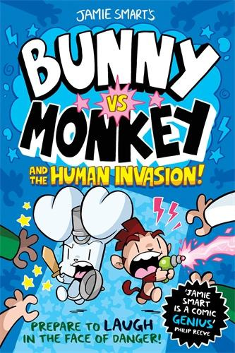 Bunny vs Monkey: The Human Invasion - Bunny vs Monkey (Paperback)