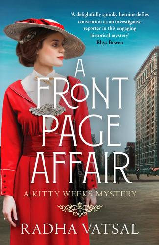 A Front Page Affair: A Kitty Weeks Mystery - A Kitty Weeks Mystery 1 (Paperback)