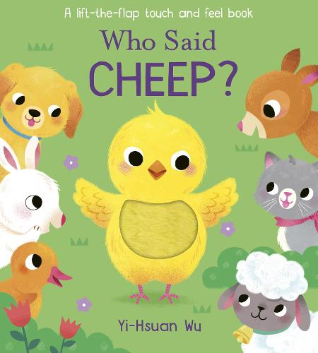 Who Said Cheep? - Who Said? (Board book)