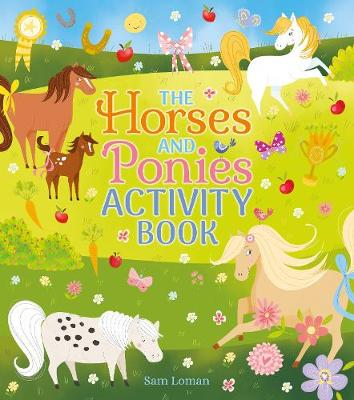 The Horses and Ponies Activity Book (Paperback)