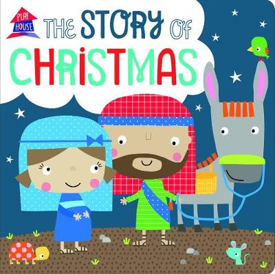 The Story of Christmas: A Fold Out Story (Board book)