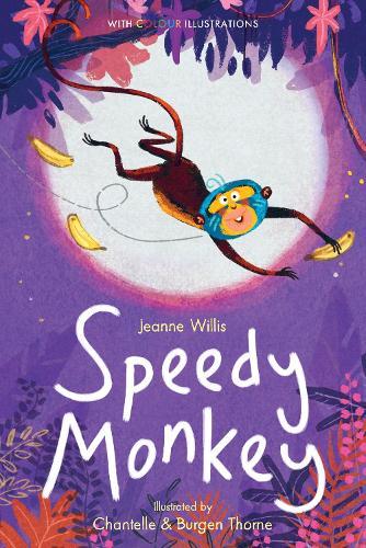 Speedy Monkey - Colour Fiction 5 (Hardback)