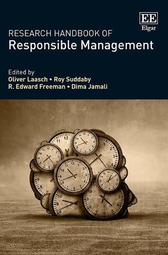 Research Handbook of Responsible Management - Research Handbooks in Business and Management Series (Hardback)