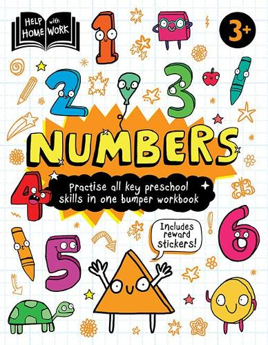 Help With Homework: 3+ Numbers (Paperback)