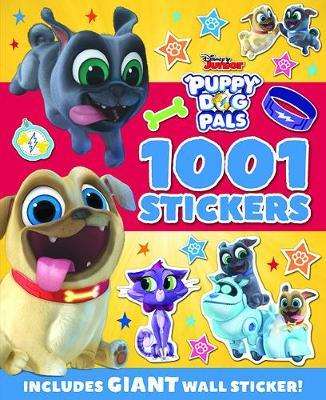 Disney Junior - Puppy Dog Pals: 1001 Stickers - 1001 Stickers Disney (Paperback)
