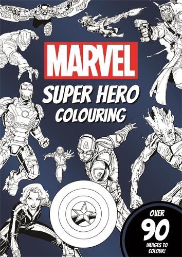 Marvel Super Hero Colouring (Paperback)