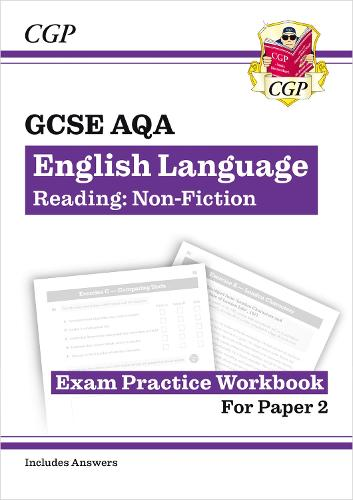 New Grade 9-1 GCSE English Language AQA Reading Skills Workbook: Non-Fiction (includes Answers) (Paperback)