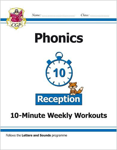 New English 10-Minute Weekly Workouts: Phonics - Reception (Paperback)