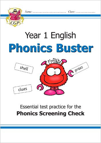 New KS1 English Phonics Buster - for the Phonics Screening Check in Year 1 (Paperback)
