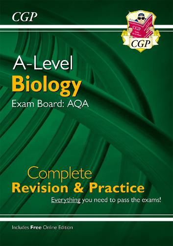 New A-Level Biology: AQA Year 1 & 2 Complete Revision & Practice with Online Edition (Paperback)