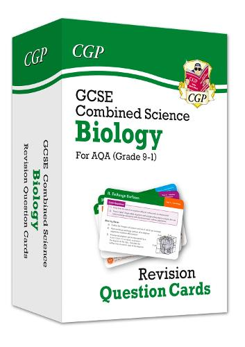 9-1 GCSE Combined Science: Biology AQA Revision Question Cards
