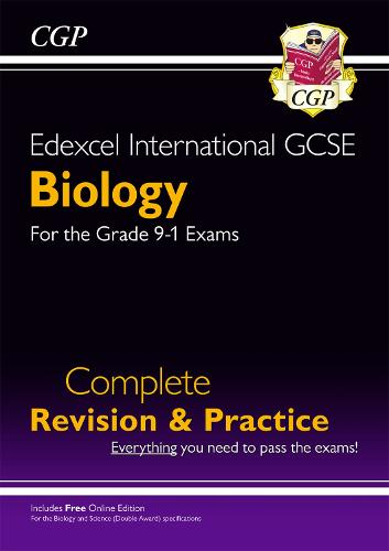 New Grade 9-1 Edexcel International GCSE Biology: Complete Revision & Practice with Online Edition (Paperback)