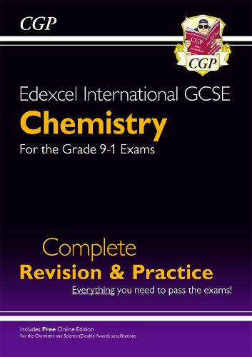 New Grade 9-1 Edexcel International GCSE Chemistry: Complete Revision & Practice with Online Edition (Paperback)