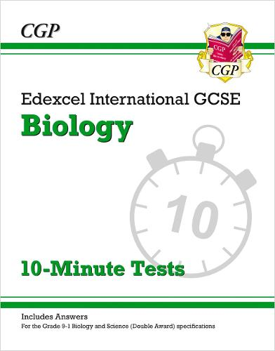 New Grade 9-1 Edexcel International GCSE Biology: 10-Minute Tests (with answers) (Paperback)