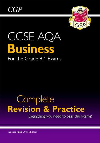 New GCSE Business AQA Complete Revision and Practice - Grade 9-1 Course (with Online Edition) (Paperback)