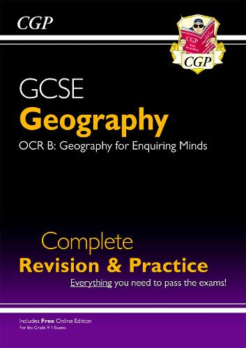 New Grade 9-1 GCSE Geography OCR B Complete Revision & Practice (with Online Edition) (Paperback)