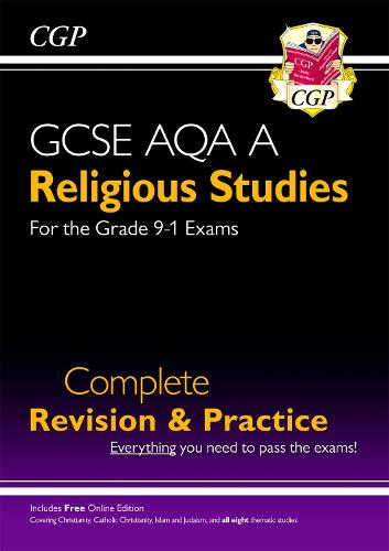 New Grade 9-1 GCSE Religious Studies: AQA A Complete Revision & Practice with Online Edition (Paperback)