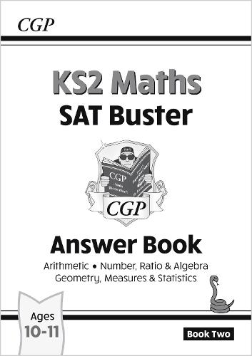 New KS2 Maths SAT Buster: Answer Book 2 (for the 2020 tests) (Paperback)