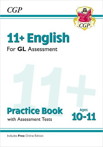 New 11+ GL English Practice Book & Assessment Tests - Ages 10-11 (with  Online Edition) (Paperback)