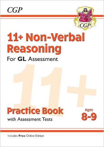 New 11+ GL Non-Verbal Reasoning Practice Book & Assessment Tests - Ages 8-9 (with Online Edition) (Paperback)