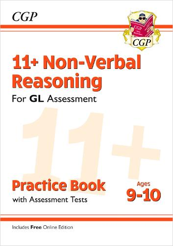 11+ GL Non-Verbal Reasoning Practice Book & Assessment Tests - Ages 9-10 (with Online Edition) (Paperback)