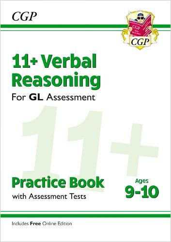 11+ GL Verbal Reasoning Practice Book & Assessment Tests - Ages 9-10 (with Online Edition) (Paperback)