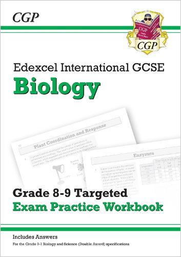 New Edexcel International GCSE Biology: Grade 8-9 Targeted Exam Practice Workbook (with answers) (Paperback)