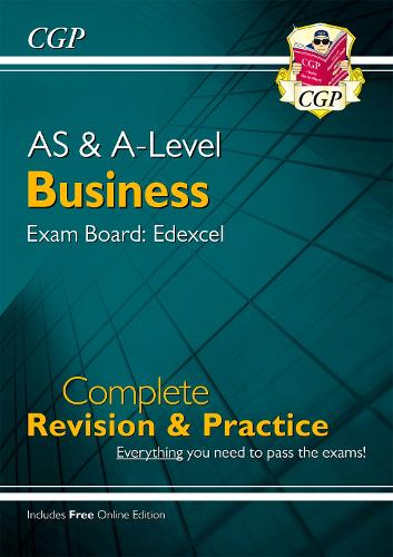 New AS and A-Level Business: Edexcel Complete Revision & Practice with Online Edition (Paperback)