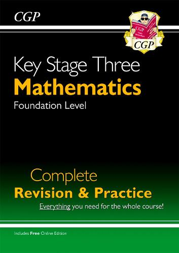 New KS3 Maths Complete Study & Practice - Foundation (with Online Edition) (Paperback)
