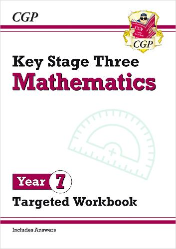 New KS3 Maths Year 7 Targeted Workbook (with answers) (Paperback)