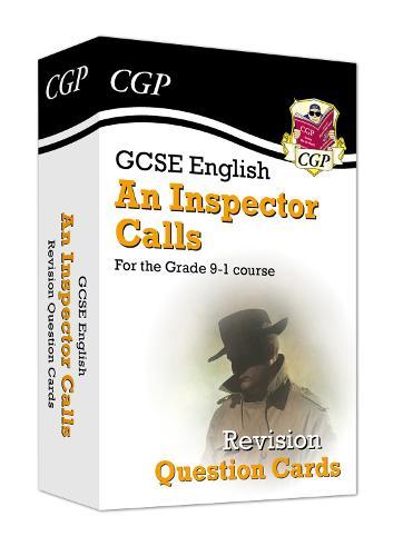 New Grade 9-1 GCSE English - An Inspector Calls Revision Question Cards