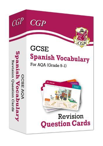 New Grade 9-1 GCSE AQA Spanish: Vocabulary Revision Question Cards