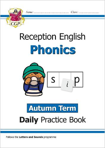 New Phonics Daily Practice Book: Reception - Autumn Term (Paperback)