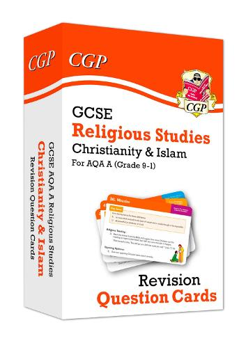 New 9-1 GCSE AQA A Religious Studies: Christianity & Islam Revision Question Cards