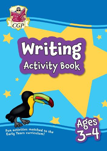 New Writing Home Learning Activity Book for Ages 3-4 (Paperback)