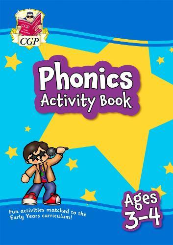 New Phonics Activity Book for Ages 3-4 (Preschool): perfect for learning at home (Paperback)