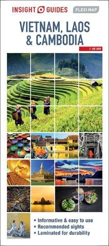 Insight Guides Flexi Map Vietnam, Cambodia and Laos - Insight Flexi Maps (Sheet map)