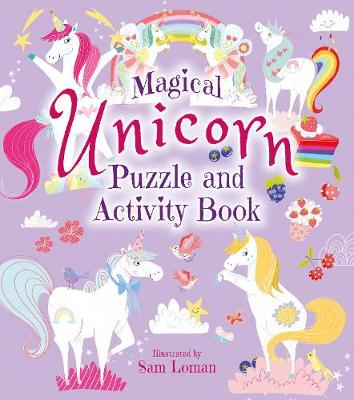 The Magical Unicorn Puzzle and Activity Book (Paperback)