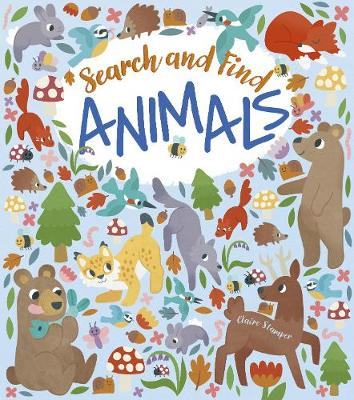Search and Find: Animals (Paperback)