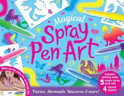 Magical Spray Pen Art - Activity Station Gift Boxes (Paperback)