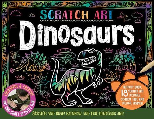 Scratch Art Dinosaurs - Activity Station Gift Boxes (Paperback)