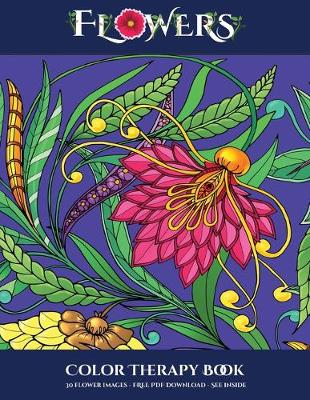 Color Therapy Book Flowers By James Manning Waterstones