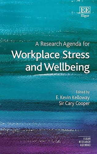 A Research Agenda for Workplace Stress and Wellbeing - Elgar Research Agendas (Hardback)