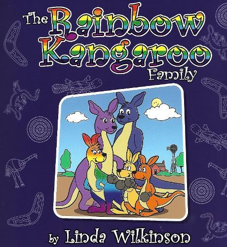 The Rainbow Kangaroo Family (Paperback)