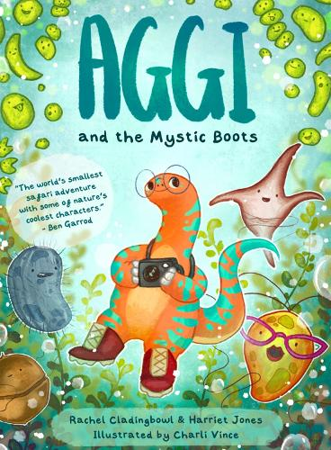 Aggi and the Mystic Boots (Paperback)