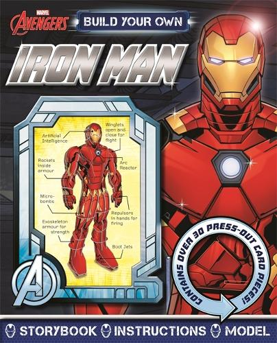 Marvel Avengers: Build Your Own Iron Man (Board book)