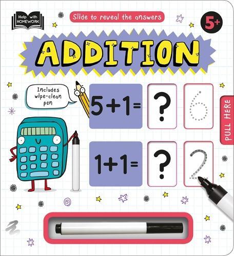 5+ Addition - Help With Homework (Hardback)