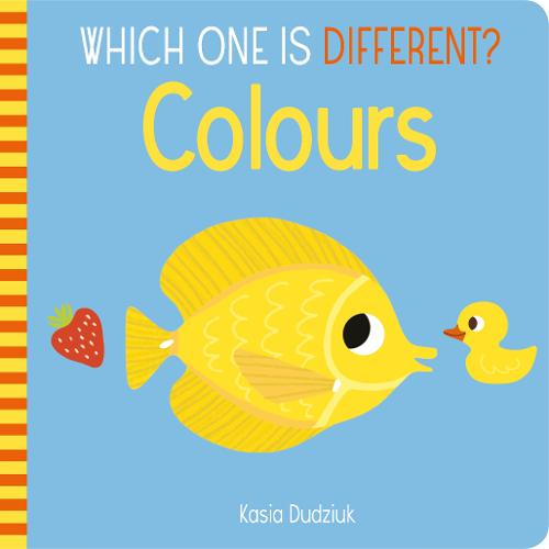 Which One Is Different? Colours - Which One is Different (Board book)